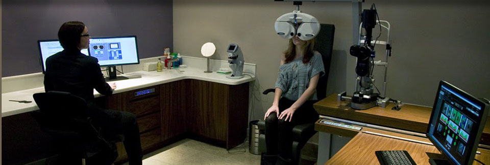Viewpoint Opticians Eye Test