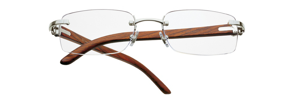Cartier Wooden Glasses